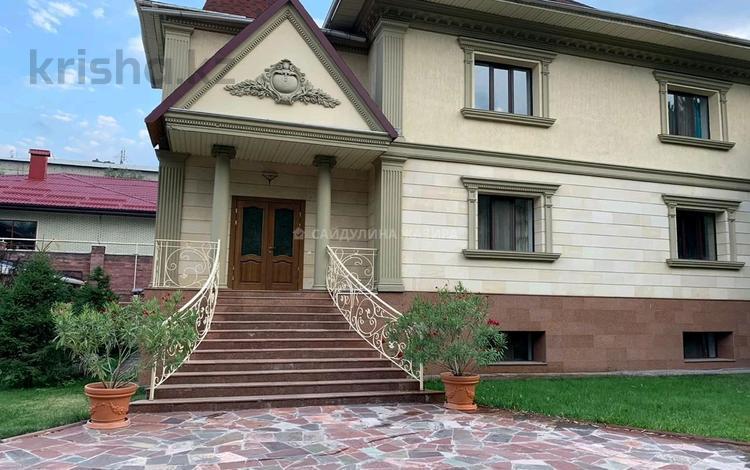 13-комнатный дом, 531 м², 13.6 сот., Аль-Фараби — Академгородок за 530 млн 〒 в Алматы, Бостандыкский р-н