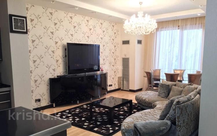 2-комнатная квартира, 80 м² помесячно, Фурманова 301 за 350 000 〒 в Алматы, Медеуский р-н