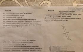 Участок 8.2 сотки, Уральск за 6.2 млн 〒