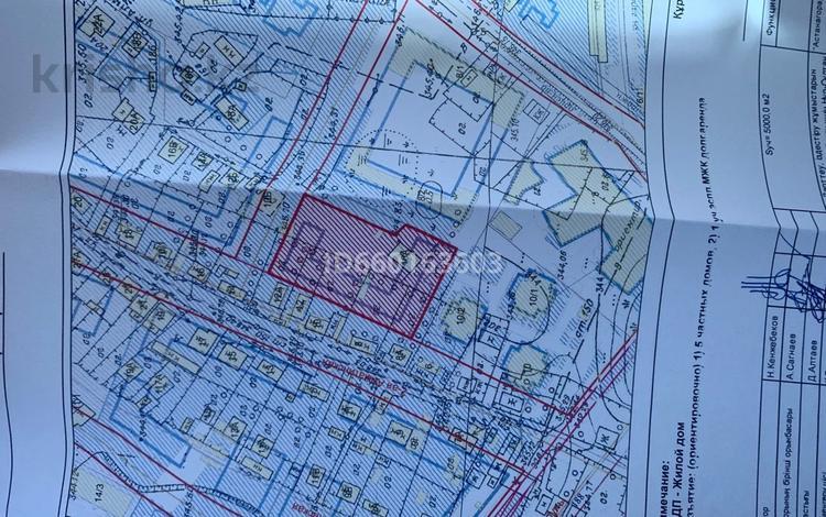 Участок 50 соток, Алматинка за 45 млн 〒 в Нур-Султане (Астана), Сарыарка р-н