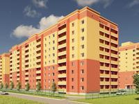 1-комнатная квартира, 43.33 м², Кайрбекова 358А за ~ 11.7 млн 〒 в Костанае
