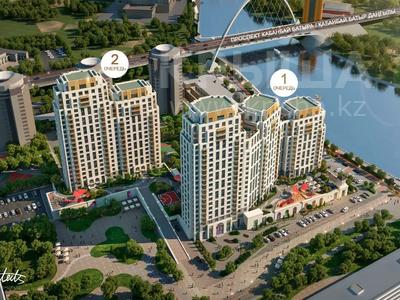 3-комнатная квартира, 89.6 м², 6/19 этаж, Муканова 2 — Мукагали Макатаева за ~ 45.7 млн 〒 в Нур-Султане (Астана), Есильский р-н — фото 2