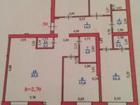 4-комнатная квартира, 150 м², 2/5 этаж