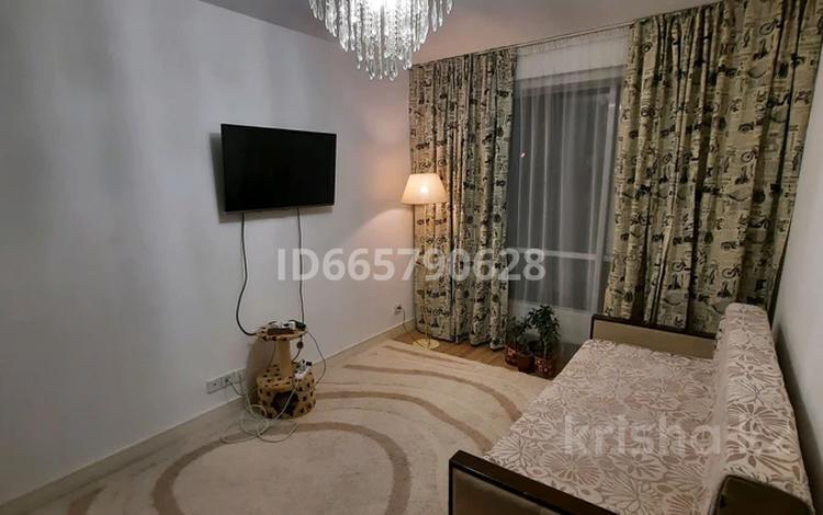 2-комнатная квартира, 50.1 м², 3/9 этаж помесячно, Абая — Розыбакиева за 250 000 〒 в Алматы, Бостандыкский р-н