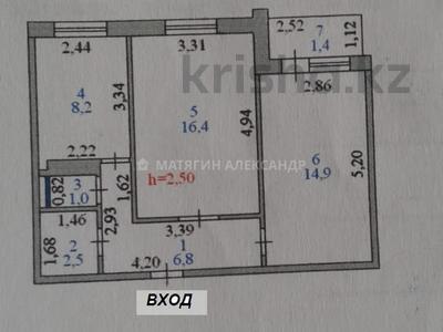 2-комнатная квартира, 52 м², 9/9 этаж, Беимбета Майлина 11/1 — Каныша Сатпаева за 19.5 млн 〒 в Нур-Султане (Астане), Алматы р-н