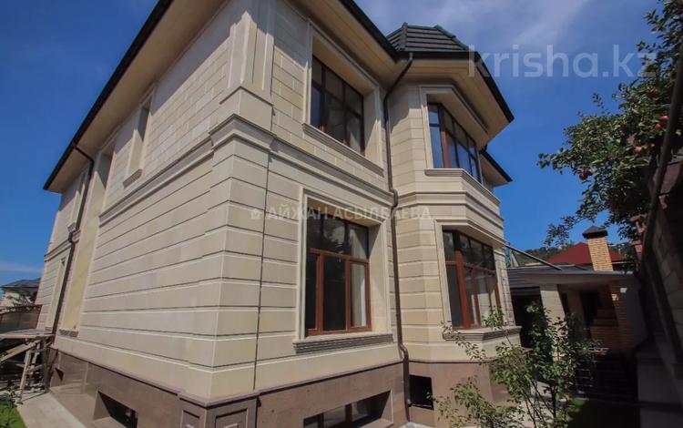 8-комнатный дом, 570 м², 10 сот., Толе би — ВОАД за 342 млн 〒 в Алматы, Медеуский р-н