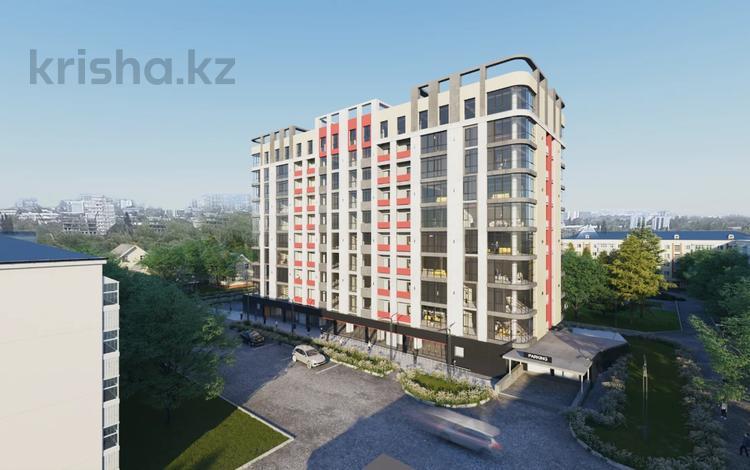 2-комнатная квартира, 71 м², 9/10 этаж, Жамбыла — Айтиева за 28.4 млн 〒 в Алматы, Алмалинский р-н
