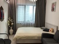 3-комнатная квартира, 120 м², 7/12 этаж помесячно, Маркова 61 за 360 000 〒 в Алматы