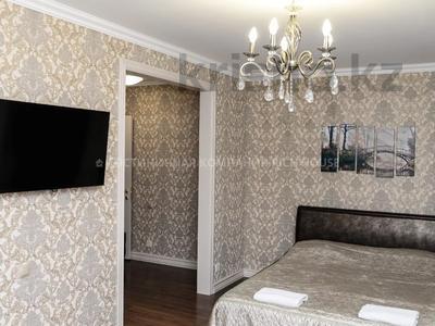 1-комнатная квартира, 39 м², 4/5 этаж посуточно, проспект Бухар жырау 54А — проспект Нуркена Абдирова за 11 995 〒 в Караганде, Казыбек би р-н