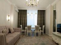 2-комнатная квартира, 80 м², 5/11 этаж помесячно, Сауран 10 за 220 000 〒 в Нур-Султане (Астане), Есильский р-н