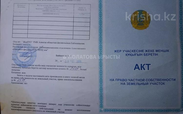Участок 4.5 соток, Ауэзова — Бухар жырау за 49.2 млн 〒 в Алматы, Бостандыкский р-н
