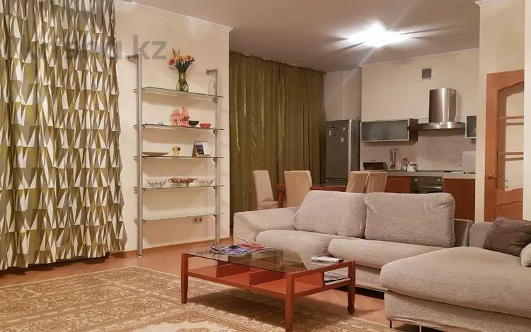 3-комнатная квартира, 140 м², 14/20 этаж посуточно, Сатпаева 9б — Масанчи за 17 000 〒 в Алматы, Алмалинский р-н