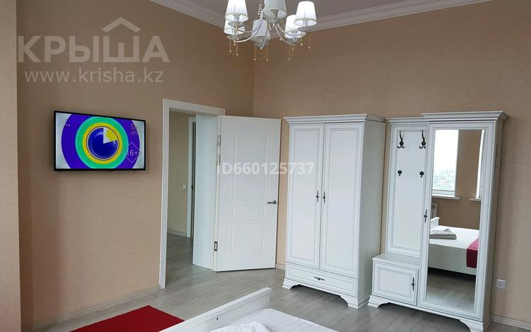 2-комнатная квартира, 45 м², 22 этаж посуточно, Кабанбай батыра 11 за 10 000 〒 в Нур-Султане (Астана), Есиль р-н