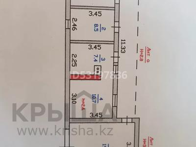 1-комнатный дом, 60 м², 10 сот., Кенес Акишев за 11 млн 〒 в Караоткеле — фото 2