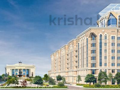 2-комнатная квартира, 77.47 м², К. Аманжолова 28/2 — Нажимеденова за ~ 34.5 млн 〒 в Нур-Султане (Астане), Алматы р-н