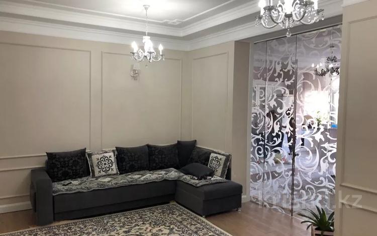 4-комнатная квартира, 160 м², 2/16 этаж, Кунаева 91 — Рыскулова за 65 млн 〒 в Шымкенте, Аль-Фарабийский р-н