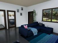 3-комнатный дом, 56 м², 10 сот.