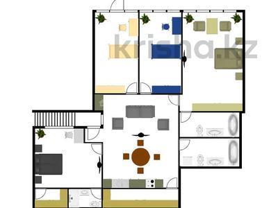 4-комнатная квартира, 178.6 м², 2/2 этаж, мкр Ерменсай, Ремизовка — проспект Аль-Фараби за 67.4 млн 〒 в Алматы, Бостандыкский р-н