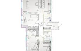 4-комнатная квартира, 129.1 м², 9/10 этаж, Байтурсынова 177 за ~ 62.6 млн 〒 в Алматы, Бостандыкский р-н
