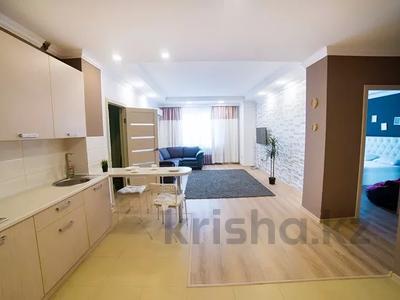3-комнатная квартира, 95 м², 2/25 этаж посуточно, Каблукова 38г за 16 000 〒 в Алматы, Бостандыкский р-н — фото 4