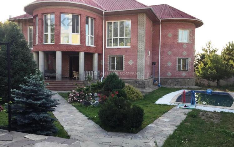 8-комнатный дом помесячно, 520 м², 17 сот., Курмет — Оспанова за 1.5 млн 〒 в Алматы, Медеуский р-н