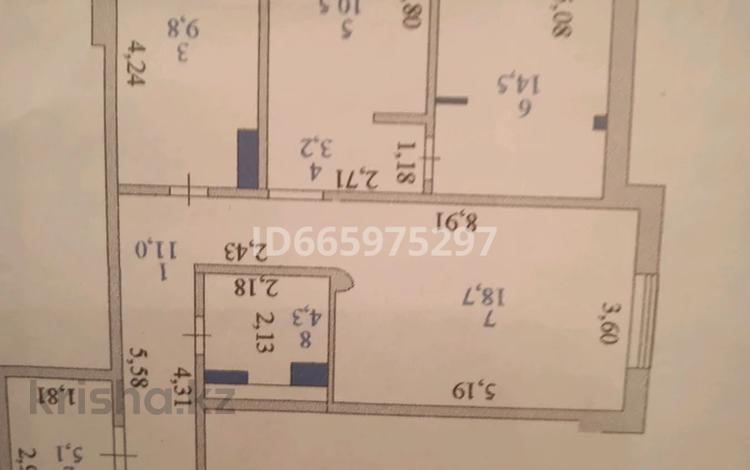 3-комнатная квартира, 80 м², 7/18 этаж, Момышулы за 27 млн 〒 в Нур-Султане (Астане), Алматы р-н