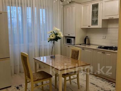 1-комнатная квартира, 45 м², 1/5 этаж посуточно, Микрорайон Каратал 45 за 12 000 〒 в Талдыкоргане