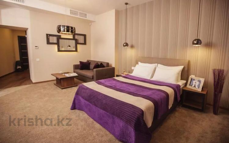 2-комнатная квартира, 69 м², 17 этаж посуточно, Каблукова 264/5 за 15 000 〒 в Алматы, Бостандыкский р-н