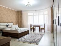 1-комнатная квартира, 50 м², 2/9 этаж посуточно, проспект Исатая Тайманова 58 за 12 000 〒 в Атырау