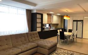 4-комнатная квартира, 140 м², 8 этаж помесячно, Нажимеденова 4 за 500 000 〒 в Нур-Султане (Астана), Алматы р-н