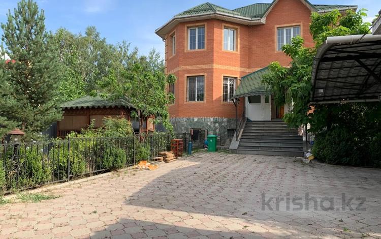 6-комнатный дом помесячно, 380 м², 7 сот., Дарын 7 за 600 000 〒 в Алматы, Бостандыкский р-н