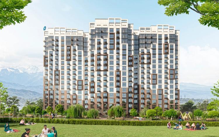 1-комнатная квартира, 47.94 м², 9/17 этаж, Макатаева 2 за ~ 24.6 млн 〒 в Алматы, Медеуский р-н