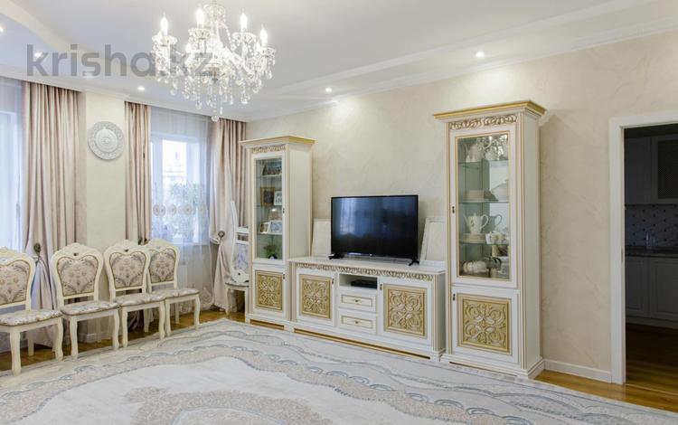 3-комнатная квартира, 128 м², 3/17 этаж, Навои — Торайгырова за 58.5 млн 〒 в Алматы, Бостандыкский р-н