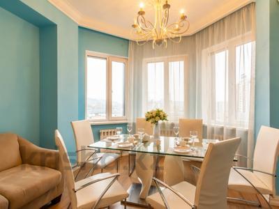 3-комнатная квартира, 110 м², 4/20 этаж помесячно, Аль-Фараби 21 — Каратаева за 550 000 〒 в Алматы