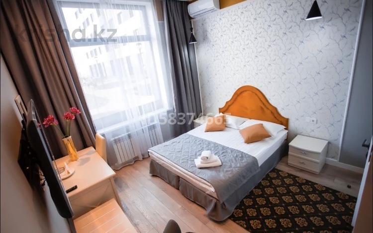 1-комнатная квартира, 45 м², 1/9 этаж посуточно, Ул.Е-22 2 за 10 000 〒 в Нур-Султане (Астана), Есиль р-н