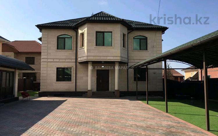 6-комнатный дом, 405.1 м², 8 сот., мкр Алатау — Жулдыз за 155 млн 〒 в Алматы, Бостандыкский р-н