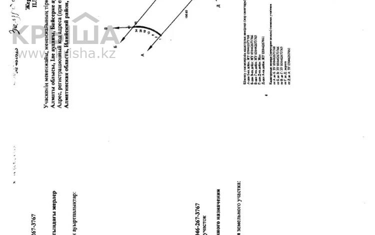 Участок 1.69 га, Капчагайская трасса за 35 млн 〒 в Ынтымак