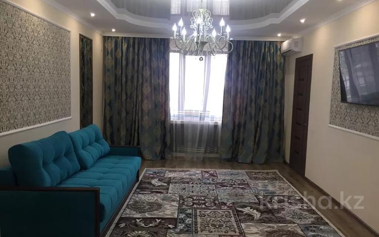 1-комнатная квартира, 51 м², 1/5 этаж посуточно, Микрорайон Каратал 43в за 12 000 〒 в Талдыкоргане