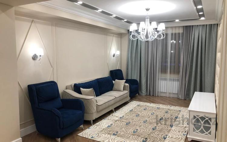 3-комнатная квартира, 107 м², Абиша Кекилбайулы 97а — Байкадамова за 55 млн 〒 в Алматы, Бостандыкский р-н