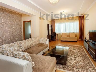 3-комнатная квартира, 148 м², 31/41 этаж посуточно, Достык 5/1 — Акмешет за 16 000 〒 в Нур-Султане (Астана), Есиль р-н