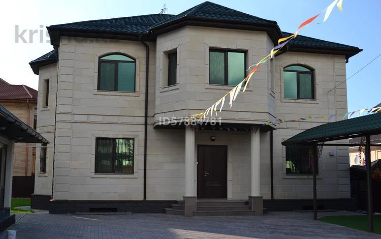 9-комнатный дом, 405 м², 8 сот., мкр Алатау, ул. 11 8 — ул. Жулдыз за 210 млн 〒 в Алматы, Бостандыкский р-н