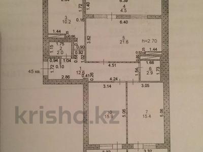 3-комнатная квартира, 90 м², 6/6 этаж, 29-й мкр 31 за 21 млн 〒 в Актау, 29-й мкр — фото 3
