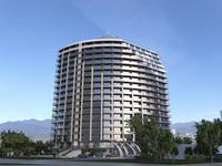 1-комнатная квартира, 34.2 м², Реджеб Нижарадзе 17 за ~ 10.1 млн 〒 в Батуми