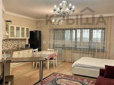 1-комнатная квартира, 55 м², 6/16 этаж посуточно, Айманова 140 — Мынбаева за 14 000 〒 в Алматы, Бостандыкский р-н