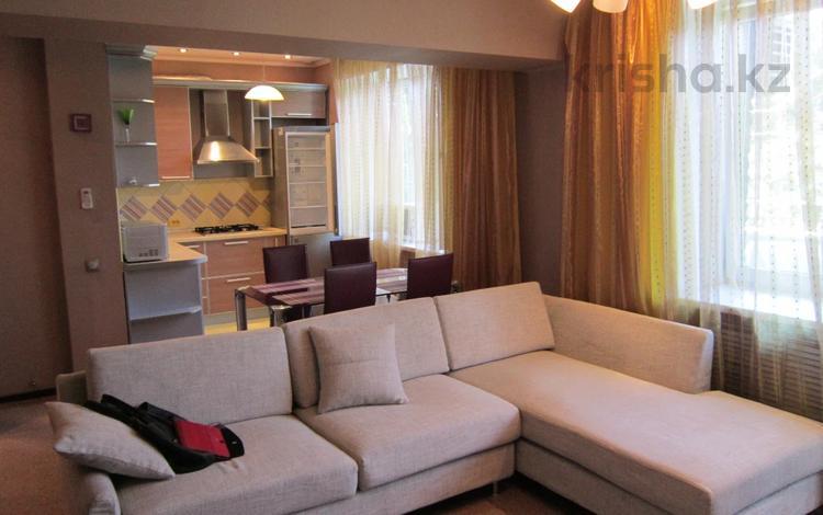2-комнатная квартира, 62 м², Карасай Батыра 33 — Валиханова за 34.5 млн 〒 в Алматы, Медеуский р-н