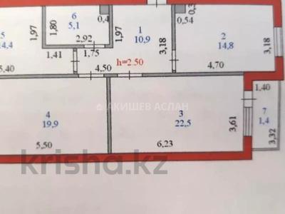 3-комнатная квартира, 91 м², 12/13 этаж, проспект Сарыарка 11 — Кенесары за 29 млн 〒 в Нур-Султане (Астана), Сарыаркинский р-н — фото 10