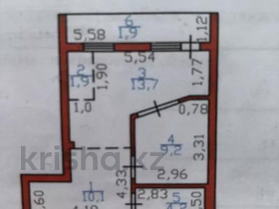 2-комнатная квартира, 42 м², 5/6 этаж, Пушкина 25 — проспект Абая за 11.8 млн 〒 в Нур-Султане (Астана), р-н Байконур — фото 2