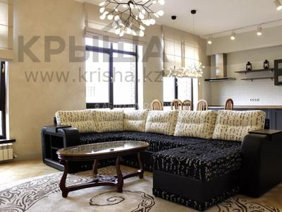 3-комнатная квартира, 110 м² помесячно, мкр Баганашыл 5к12 — Аль-Фараби за 500 000 〒 в Алматы, Бостандыкский р-н
