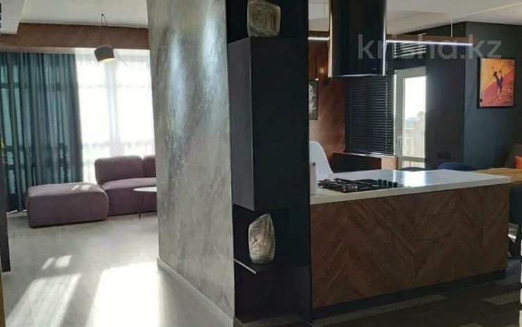 3-комнатная квартира, 110 м² помесячно, Достык 160 за 380 000 〒 в Алматы