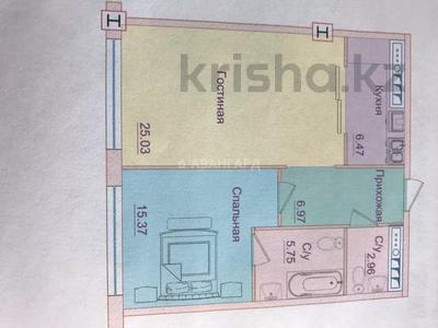 2-комнатная квартира, 66 м², 3/4 этаж, мкр Юбилейный, Омаровой 29 за 29 млн 〒 в Алматы, Медеуский р-н — фото 3